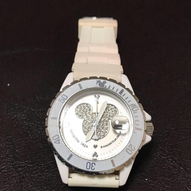 Samantha Silva(サマンサシルヴァ)の商品:サマンサシルヴァ ミッキーマウスウォッチ(電池交換済) レディースのファッション小物(腕時計)の商品写真