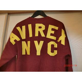 アヴィレックス(AVIREX)のタイムセール新品未使用アヴィレックスビッグロゴスエット(Tシャツ/カットソー(七分/長袖))