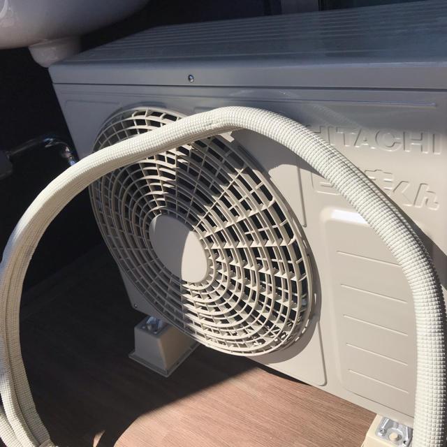 日立(ヒタチ)の【美品】【大幅割引】日立 白くまくん RAS-AJ22H スマホ/家電/カメラの冷暖房/空調(エアコン)の商品写真