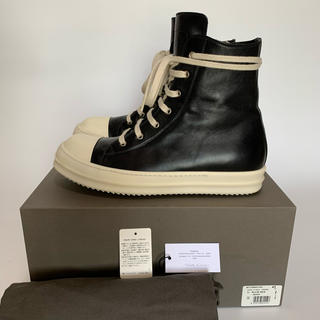 Rick Owens - ※43※ Rick Owens - Leather Ramones