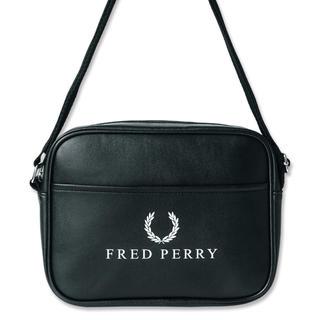 フレッドペリー(FRED PERRY)のFRED PERRY 2019 SUMMER ロゴマーク入りショルダーバッグ(ショルダーバッグ)