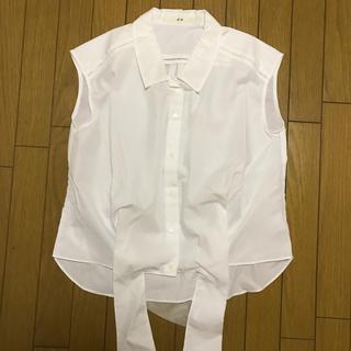 エフデ(ef-de)の新品★エフデ 半袖白ワイシャツ(シャツ/ブラウス(半袖/袖なし))