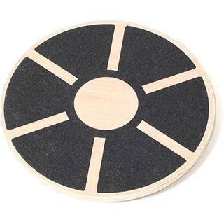 ムジルシリョウヒン(MUJI (無印良品))のFitnesStyle バランスボード ウッド 木製 無印 直径40cm(トレーニング用品)
