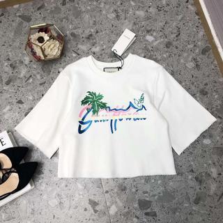 グッチ(Gucci)の新作【グッチ】「グッチハワイ」ショートスウェットシャツ(Tシャツ(半袖/袖なし))