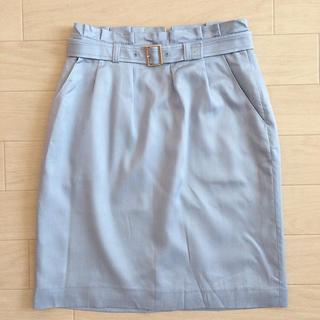 プロポーションボディドレッシング(PROPORTION BODY DRESSING)のプロポーションボディドレッシング ベルト付きスカート (ひざ丈スカート)