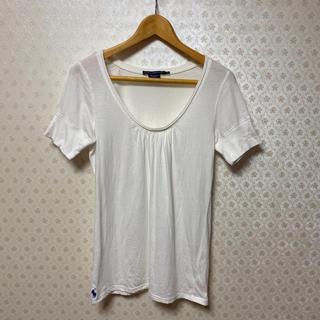 ラルフローレン(Ralph Lauren)の⭐️ラルフローレンスポーツ⭐️レディース ⭐️首元広/ 半袖Tシャツ⭐️ホワイト(Tシャツ(半袖/袖なし))