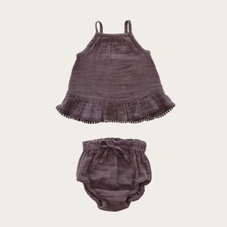 キャラメルベビー&チャイルド(Caramel baby&child )のJAMIE KAY Organic Cotton Muslin Zoe Set(Tシャツ/カットソー)