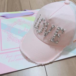 レディー(Rady)のちびRady♡ビジューLOVEキャップ(帽子)