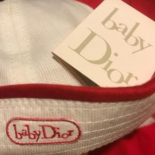 ベビーディオール(baby Dior)のbaby Dior ベビーディオール 帽子 タグ付き新品 ヴィンテージ (帽子)