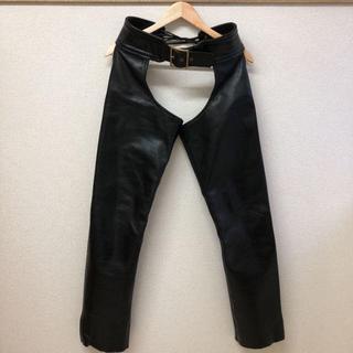 バンソン(VANSON)のUSA製 VANSON Leather chaps バンソンレザーチャップス(その他)