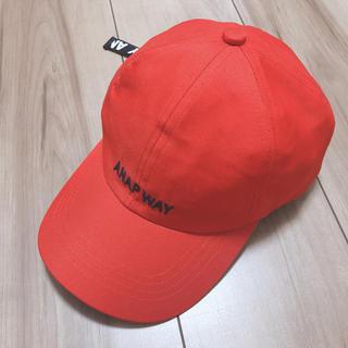 アナップキッズ(ANAP Kids)のANAP WAY♡ロゴキャップ(帽子)
