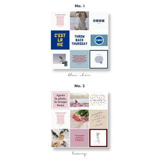 〔オーダー受付〕ネップリ 全9種類 ステッカー風カード 韓国(しおり/ステッカー)