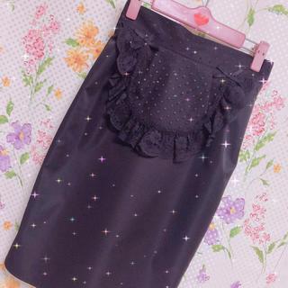 ハニーシナモン(Honey Cinnamon)のHoneyCinnamon♡レースタイトスカート(ひざ丈スカート)