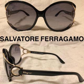 サルヴァトーレフェラガモ(Salvatore Ferragamo)のSalvatore Ferragamo サングラス バタフライ ガンチーニ(サングラス/メガネ)