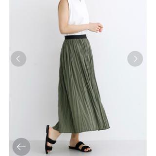 merlot - メルロー プリーツスカート