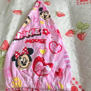 ディズニー(Disney)のいちご様専用 ミニーシャワーキャップ(帽子)