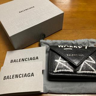 バレンシアガ(Balenciaga)のバレンシアガ グラフィティ 三つ折り財布(折り財布)
