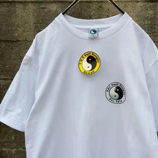 タウンアンドカントリー(Town & Country)のタグ付き レア Town&Country Tシャツ 太陰太極図 L ゆるだぼ(Tシャツ/カットソー(半袖/袖なし))