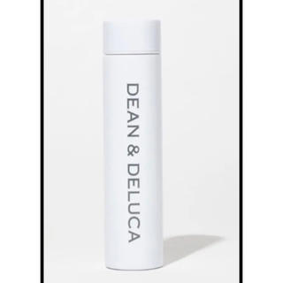 ディーンアンドデルーカ(DEAN & DELUCA)のDEAN & DELUCA  GLOW  8月号 付録 ステンレスボトル  白(食器)