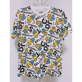 ユニバーサルスタジオジャパン(USJ)の*送料無料*UNIVERSAL STUDIOS JAPAN ミニオンTシャツ(Tシャツ/カットソー(半袖/袖なし))