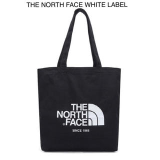 THE NORTH FACE - 【the North Face】ビッグロゴコットントート★ブラック