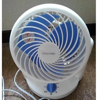 ヤマゼン(山善)のDesk Fan YDT-F184 18cm卓上扇風機ホワイトブルー(その他)