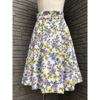 クチュールブローチ(Couture Brooch)のクチュールブローチ ジャガード風スカート(ひざ丈スカート)