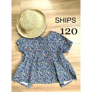 SHIPS - SHIPS 120 2way 半袖トップス