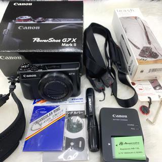 Canon - Canon デジタルカメラ PowerShot G7 X MarkII