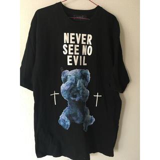 ミルクボーイ(MILKBOY)のmilkboy NEVER SEE NO EVIL BEAR Tシャツ クマ 熊(Tシャツ(半袖/袖なし))