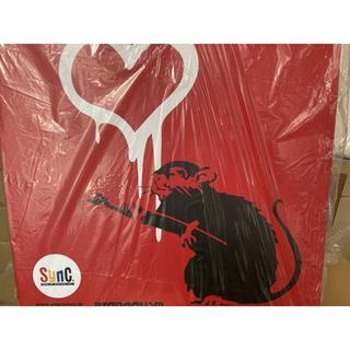 メディコムトイ(MEDICOM TOY)の LOVE RAT RED Ver. BANKSY ラブ ラット バンクシー (その他)