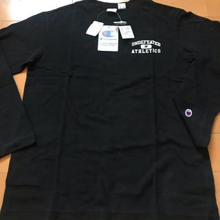 アンディフィーテッド(UNDEFEATED)のXL UNDEFEATED championコラボシャツ(Tシャツ/カットソー(七分/長袖))