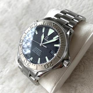 オメガ(OMEGA)のシーマスター 300 ラージサイズ 型番 2230.50(ホワイトゴールドベゼル(腕時計(アナログ))