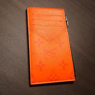 LOUIS VUITTON - ★新品★ 完売品 ヴィトン コイン・カードホルダー タイガラマ オレンジ