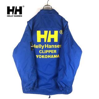ヘリーハンセン(HELLY HANSEN)の【HELLY HANSEN】90's ヴィンテージ ビッグロゴ コーチジャケット(ナイロンジャケット)