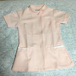 アイトス(AITOZ)の新品 ナース 看護師 服 ピンク チャック付き Mサイズ(その他)