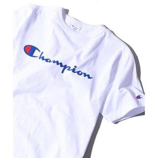Champion - champion 半袖Tシャツ カットソー Lサイズ 白