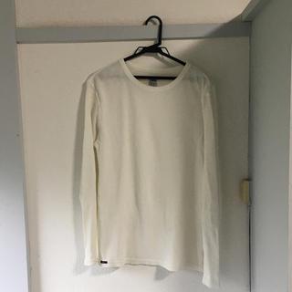 エドウィン(EDWIN)のEDWIN ロンT ワッフル地 ホワイト(Tシャツ/カットソー(七分/長袖))