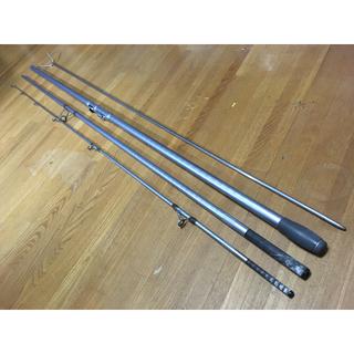 シマノ ◆ サーフリーダーSF 405 CX ◆ 特製竿立て (ロッド)