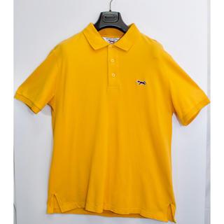 メゾンキツネ(MAISON KITSUNE')の[レア] Vintage RETRO FOX ポロシャツ キツネ サイズL(ポロシャツ)