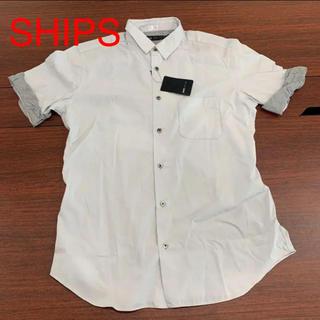 SHIPS - 0418 日本製 国産 メンズ  激安 在庫処分 新品 半袖シャツ