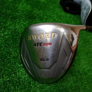 カタナ(KATANA)のカタナゴルフ ドライバーSWORD ATC808(クラブ)
