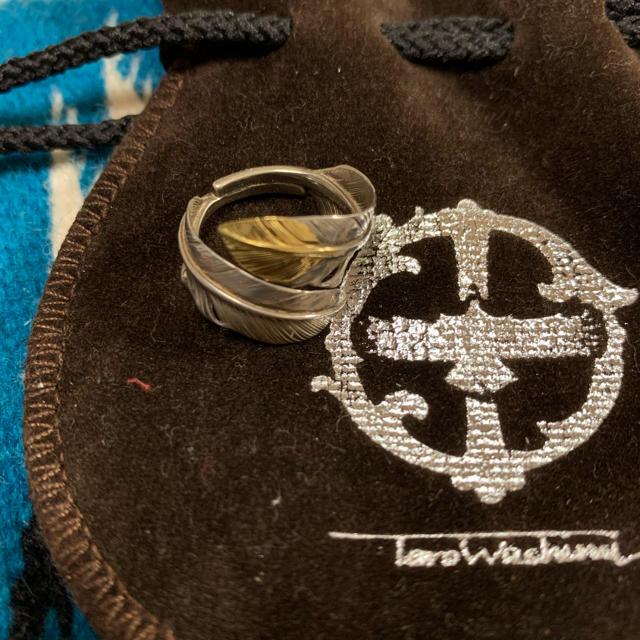 goro's(ゴローズ)の鷲見太郎 ダブルフェザーリング メンズのアクセサリー(リング(指輪))の商品写真