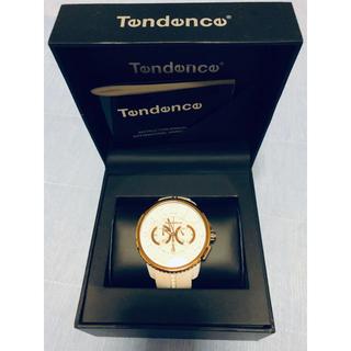 テンデンス(Tendence)のTENDENCE ガリバーラウンド  腕時計 ホワイト(腕時計(アナログ))