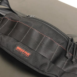 ブリーフィング(BRIEFING)のブリーフィング USA製ウエストバッグ tripod ブラック ウエストポーチ(ウエストポーチ)