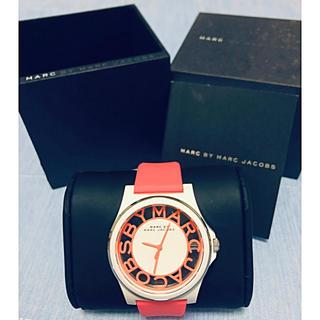 マークバイマークジェイコブス(MARC BY MARC JACOBS)のMARC BY MARC JACOBS 腕時計 ヘンリースケルトン(腕時計)