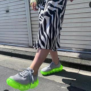 ミキオサカベ(MIKIO SAKABE)のmikio sakabe jelly shoes(スニーカー)