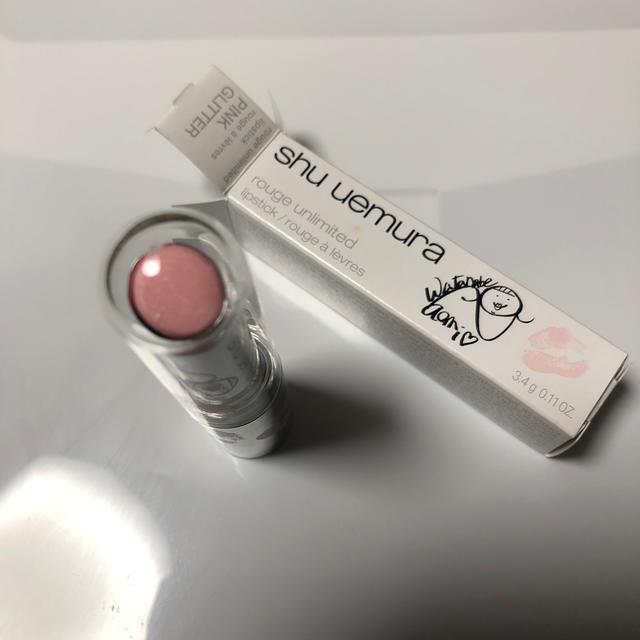 shu uemura(シュウウエムラ)のシューウエムラ ルージュリミテッド PINKLITTER コスメ/美容のベースメイク/化粧品(口紅)の商品写真