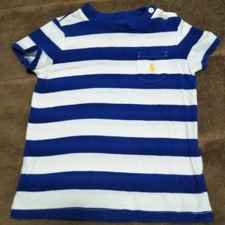 ラルフローレン(Ralph Lauren)のラルフローレン ボーダーTシャツ 80(Tシャツ)