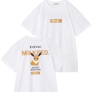 ミルクフェド(MILKFED.)のミルクフェド ポケモン イーブイ(Tシャツ(半袖/袖なし))